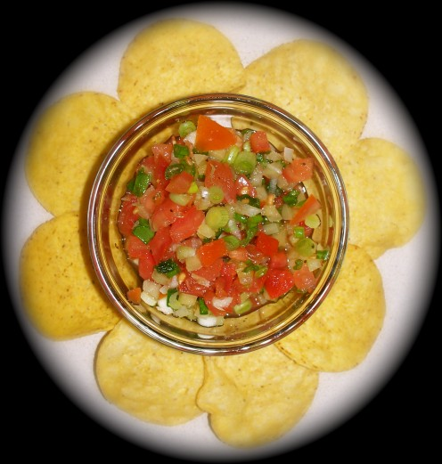 A homemade salsa recipe with an authentic Mexican taste!