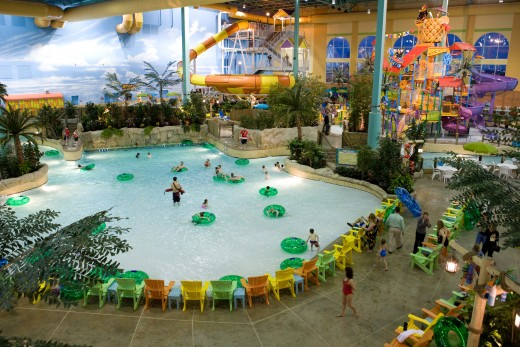 Key Lime cove water park in Illinois