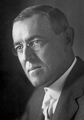 New Jersey Governor Woodrow Wilson