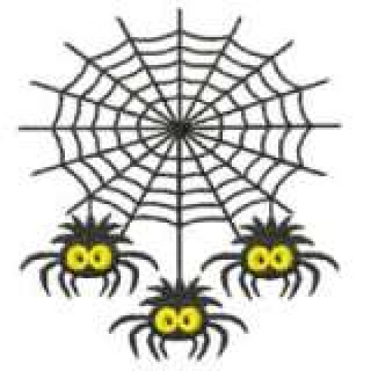 Spiders creep me out so much that a cartoon is all I can bear to post!  Source:Photobucket