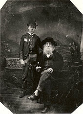 Walt Whitman and Bill Duckett