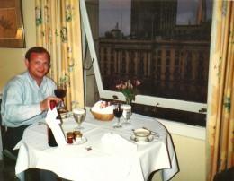 Room service at the Huntington Hotel
