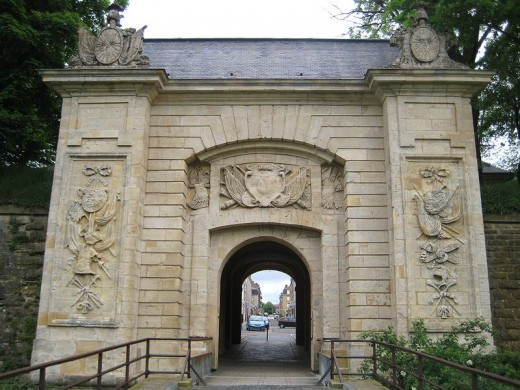 Porte de France, Longwy