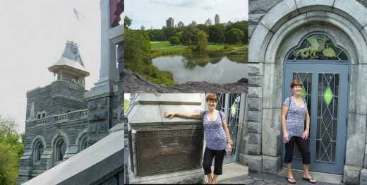 Belvedere Castle and view over Turtle Pond