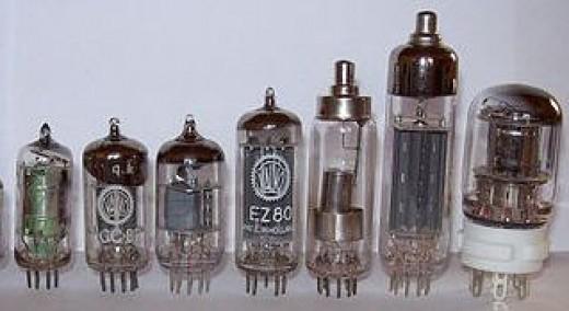 The vacuum tubes