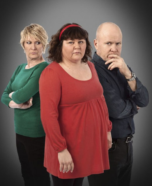 Heather dies, Phil covers up the murder, Oblivious Shirley grieves her best friend!!