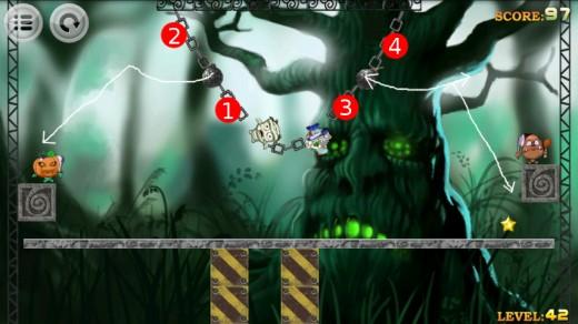 Devil hunter walkthrough for Level 42.