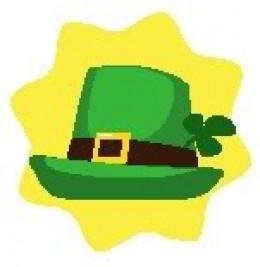 Green Lucky Irish Hat