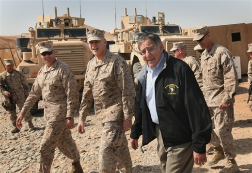 Leon Penneta, Secretary of Defense (in country) to Discuss the American Footprint in Afghanistan