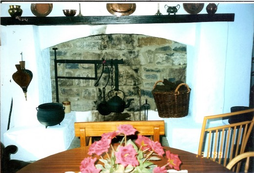 Inside the cottage occupied by Sean Thornton and Mary Kate Danaher