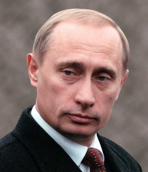 Your Putin Straight Up, No Rocks
