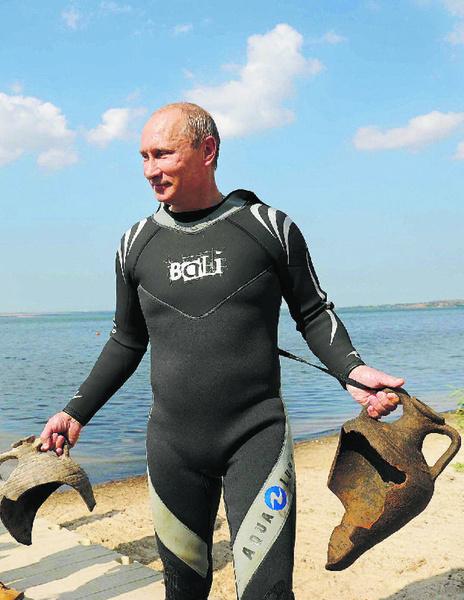 Putin, the Treasure Finder