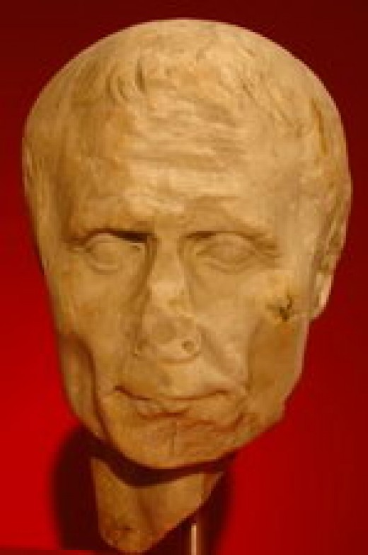 Yet another bust of Julius Caesar