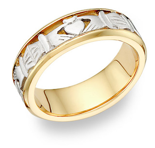Claddah Rings are the most popular celtic jewelry for men.
