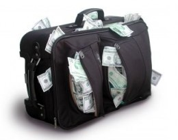 Hey, Moneybags...did you know that ABC News reported in 2010,  that airlines raised over $3.4 BILLION  in extra baggage fees alone? You can beat this!