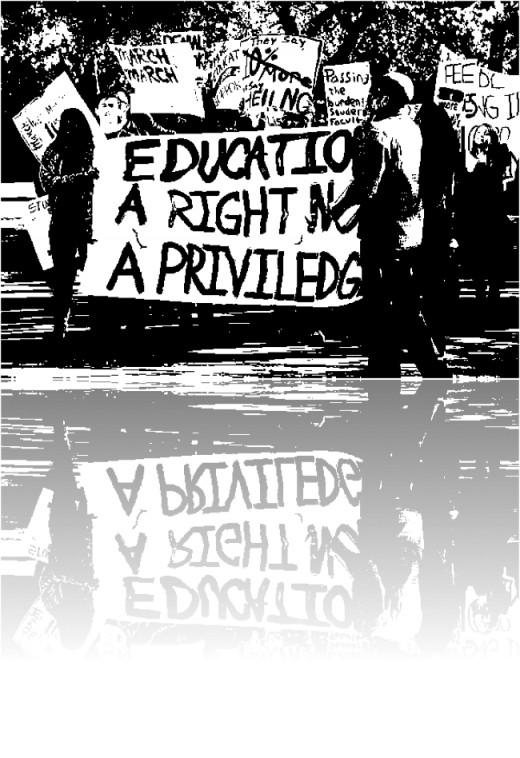 Education: A right, not a privilege.