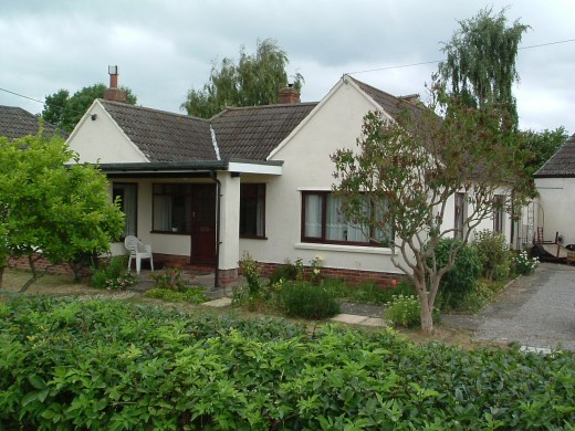 My lovely bungalow in Somerset