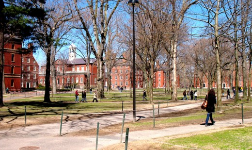Famed Harvard Yard