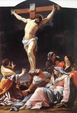 """La Crucifixtion"" by Vouet"