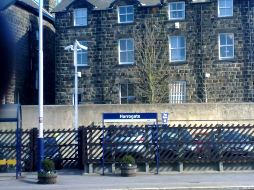Harrogate train station