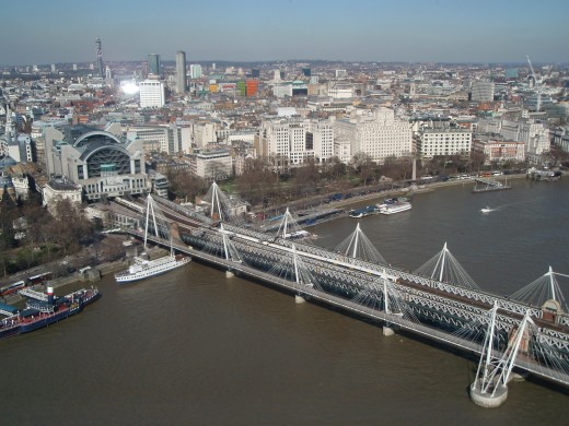 River Thames - view from the London Eye