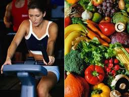 A well balanced diet & exercise are essential to healthy living