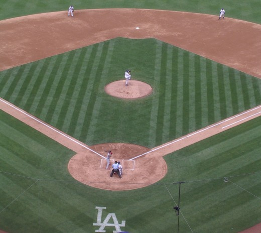 Third batter? Albert Pujols. No, Kershaw did not strike him out (yet.)