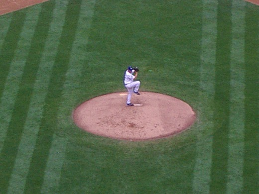 Kershaw's windup.