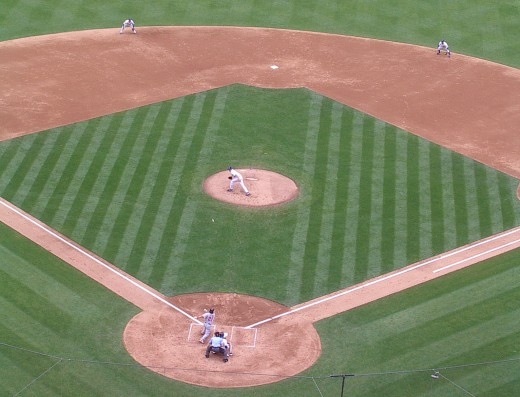 Kershaw fielding.