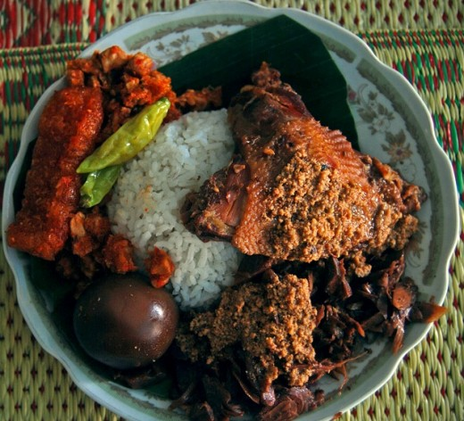 Nasi Gudeg (Gudeg with rice)