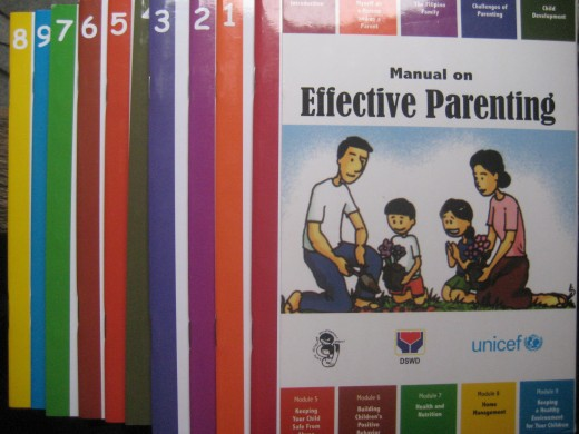 Cover photo on Manual on Effective Parenting (Photo by Travel Man)