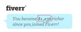 screen shot, showing my up to date earnings on fiverr.com