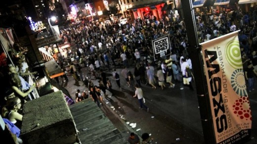 The annual SXSW Convention in Austin, Texas attracts thousands of music and film lovers every year.