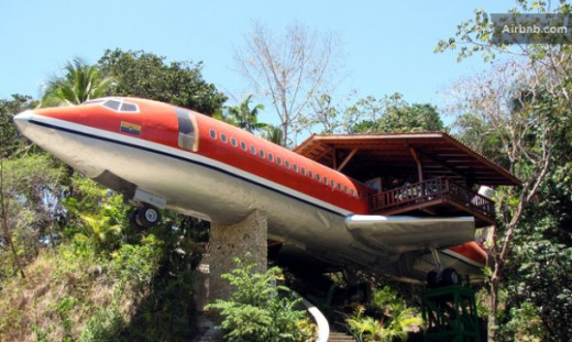 Stay in an airplane in a tree in Costa Rica! How cool is that?