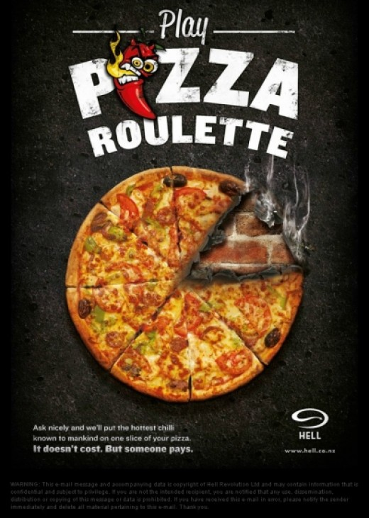 Pizza Roulette Poster