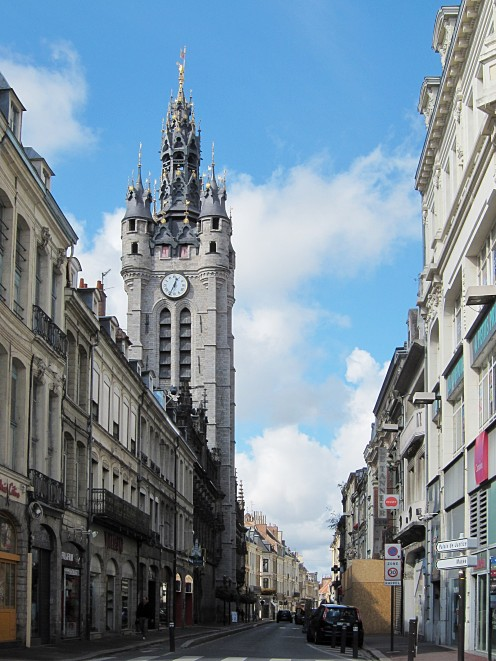 Douai's City Hall belfry