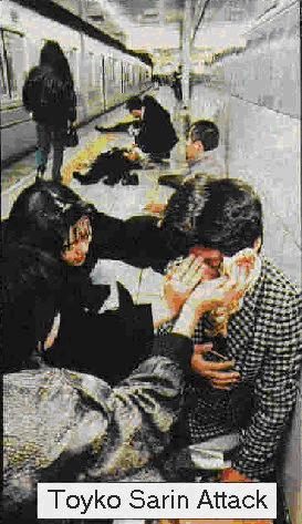 Sarin gas attack in Tokyo subway