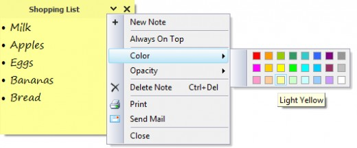 Simple Sticky Notes is a fantastic free program, in my opinion better than the standard windows stick notes