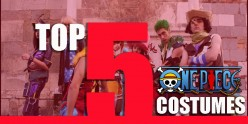 Top 5 One Piece Costumes