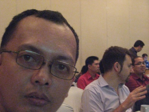 Travel Man attending the seminar (All photos by Travel Man, March 21, 2012)