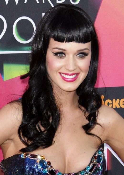 Katy Perry in bangs