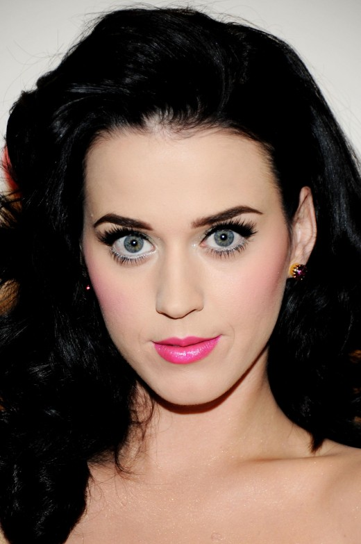 Katy Perry looking hypnotized