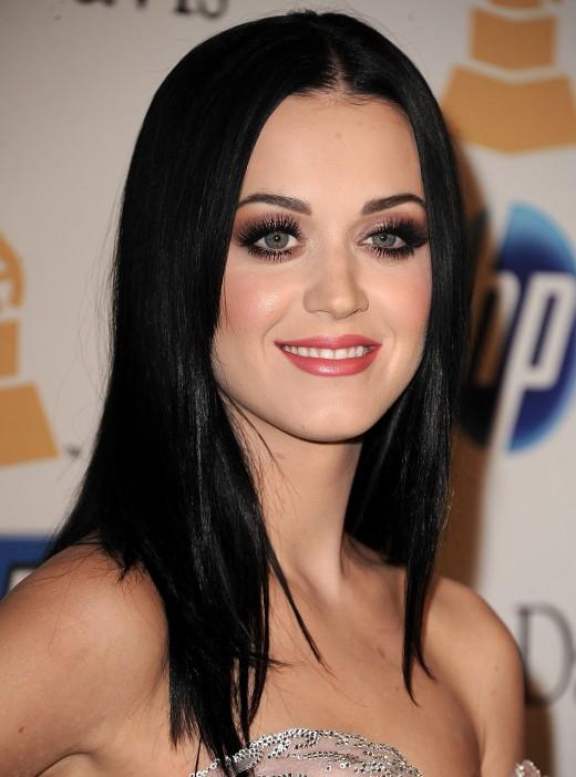 Katy P. in bad makeup