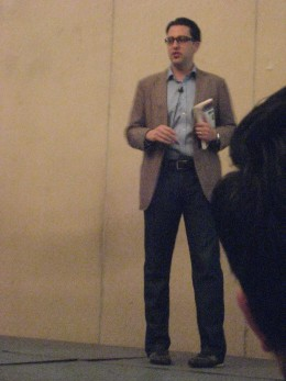 Mr. Richard Harshman of Amazon-Singapore (AWS) Photo by Travel Man