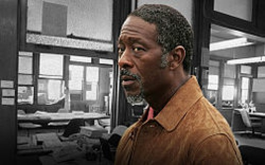 Lester Freamon, plated by Clarke Peters - the best guy in the squad.