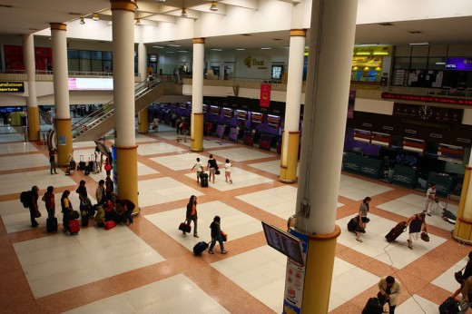 Inside Phuket International Airport