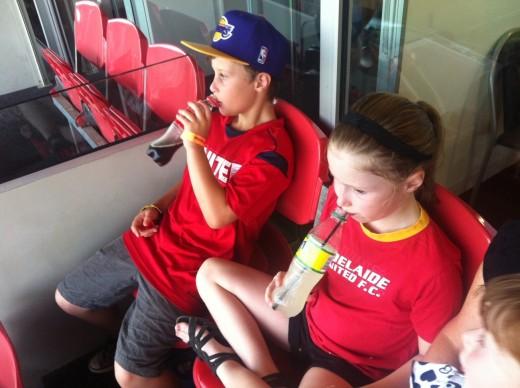 Adelaide fans