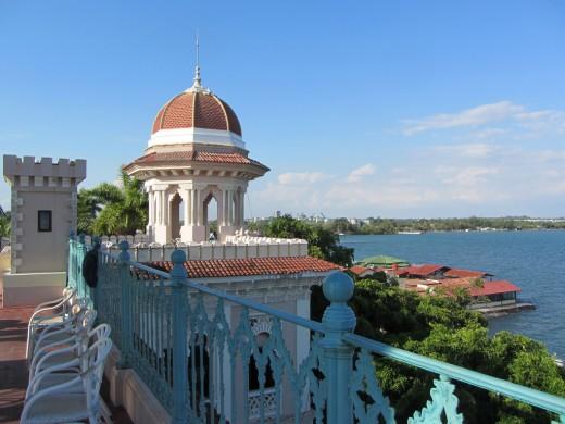 Cienfuegos, Cuba Rooftop Palacio del Valle