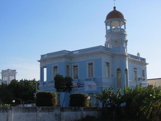 Cienfuegos, Cuba Palacio Azul
