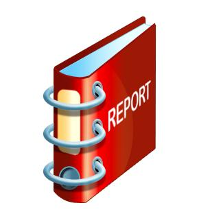 I reach for my reports...